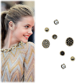 SBC10012Twinkle Grit Earrings