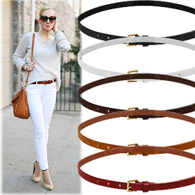 SAC8435Bruni Slim Belt