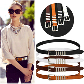 SAC9263Metal Band Point Belt