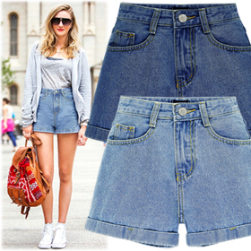 BPT15131High Waist Denim Short Pants16차 입고완료